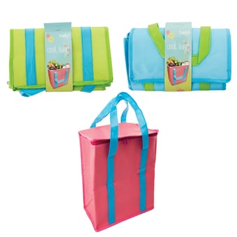 Nylon Cooler Bag In Assorted Colours