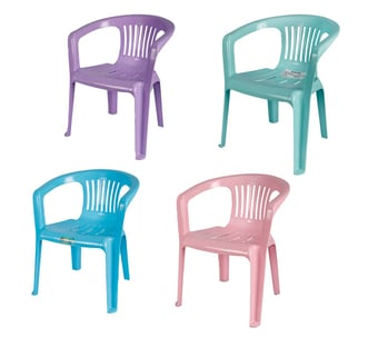 Plastic Kiddies Chair With Arm Rest