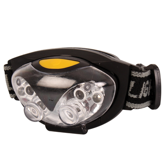 4 Plus 2 Red Led Head Lamp