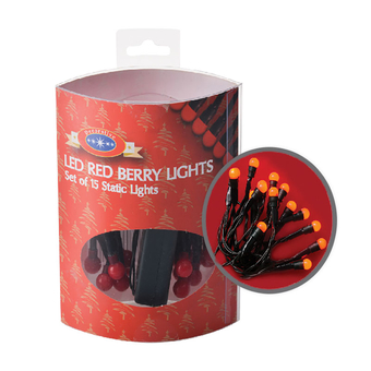 Red Berry Lights 1.7m
