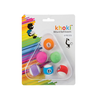 Novelty Billiard ball Erasers