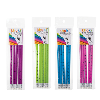 Novelty Pencil HB Ruler