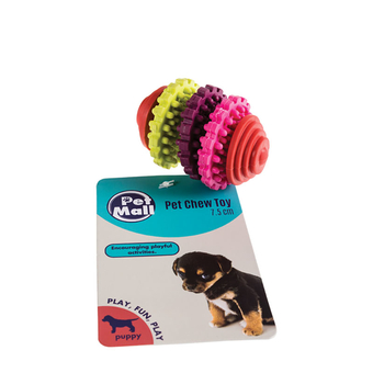 Dog Rubber Ring Bone
