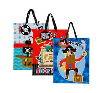 Designer Pirate Gift Bag Large