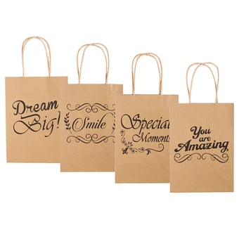 Gift bag With Wording