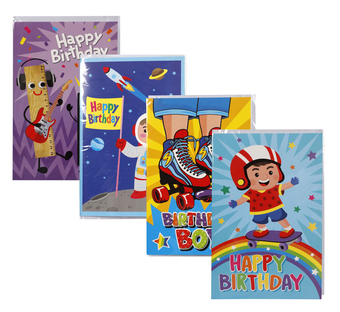 Boys Birthday Card & Envelope