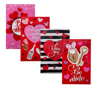 Valentines Day Card & Envelope