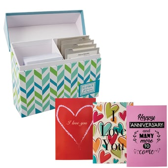 Box Of 50 Greeting Cards