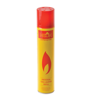 Neon Butane Lighter Gas