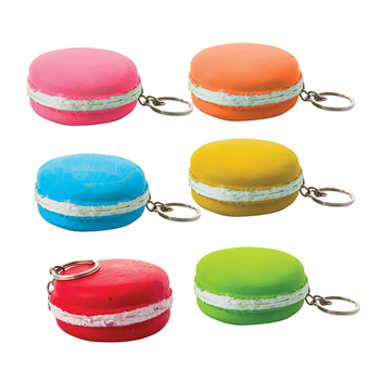 Macaroon Key Chain Asstd Colours