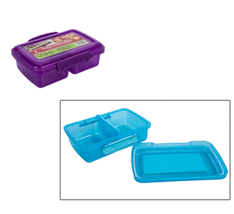 Clip & Lock Plastic Lunch Box