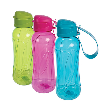 Plastic Water Bottle With Seal Flap