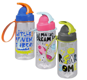 Tritan Plastic Water Bottle With Strap
