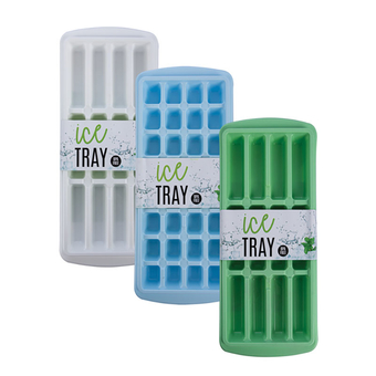 Ice Cube Tray,3 Assorted Designs
