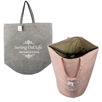 Laundry Bag With Drawstring Closure