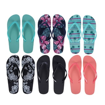 Ladies Flip Flops Size 6