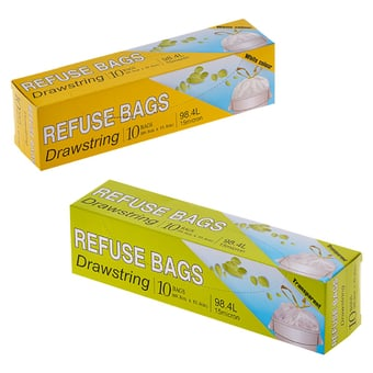 Draw String Refuse Bag