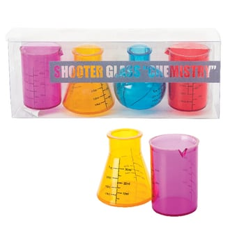 Plastic Novelty Shots Glasses