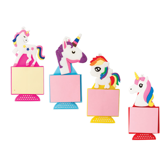Unicorn Fridge Magnet With Notepad
