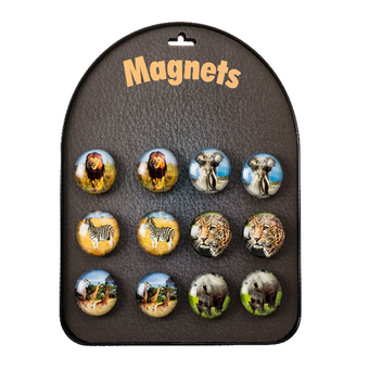 Crystal Wildlife Magnet