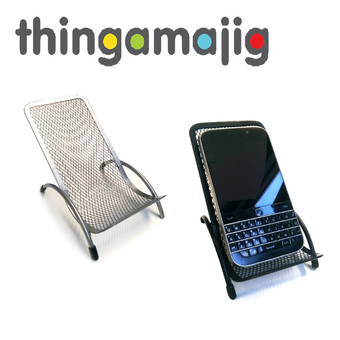 Thingamajig Metal Chair Phone Stand