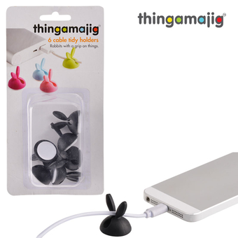 Thingamajig Cable Tidies `Rabbit Ears'