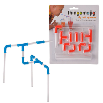 Thingamajig Plastic Build a Straw