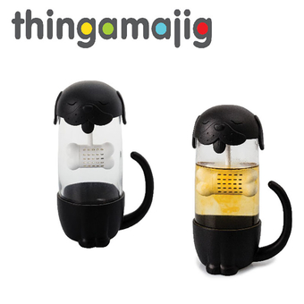 Thingamajig Glass Mug With Infuser