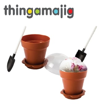 Thingamajig Plastic Ice Cream Bowl Set