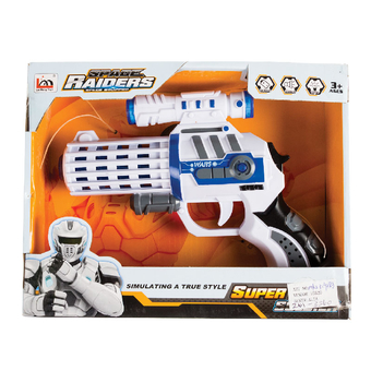 Space Gun Battery Operated Small