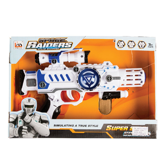 Space Gun Battery Operated Large