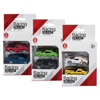 Metal Die Cast Racer Set