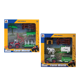 Die Cast Farm Truck Animal Set