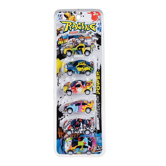 Racer Graffiti Car 6pc