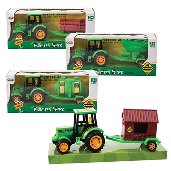 Agrimotor Tractor & Trailer