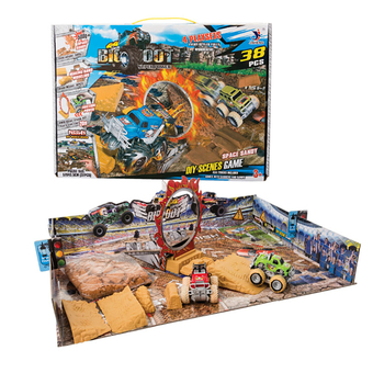 Monster Car Play Set