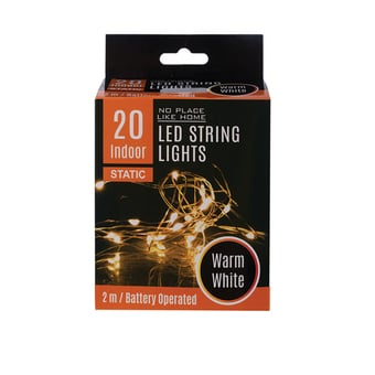 String Light With 20 Bulbs