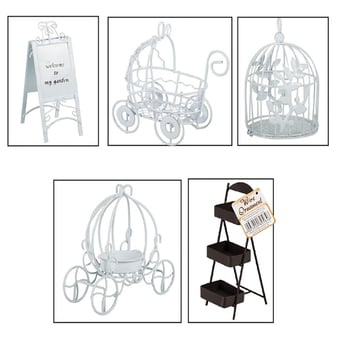 Rustic Wire Decor Items