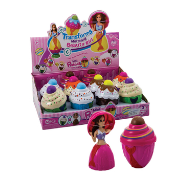 Collectable Cupcake Mermaid Doll
