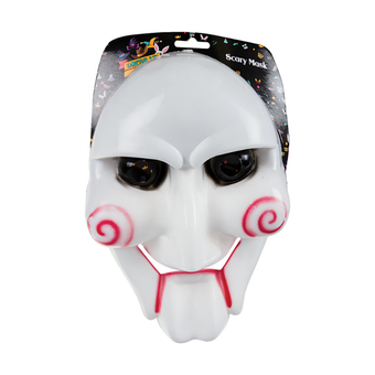 White & Red Horror Mask