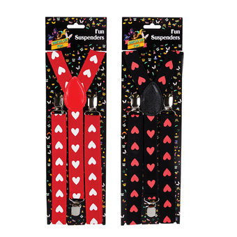 Suspenders With Hearts