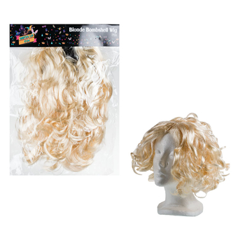 Blonde Bombshell Dress Up Wig