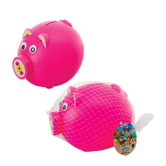 Plastic Piggy Money Bank