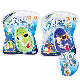 Splash Clown Water Balloon Timer Game