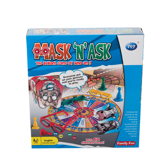 Mask 'N' Ask Game