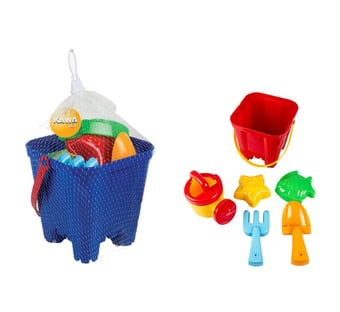 Beach Bucket Play Set