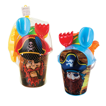 Pirate Bucket Beach Set