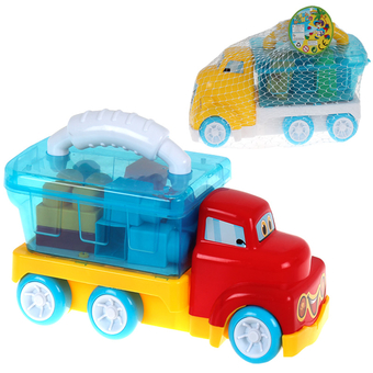 Truck with Building Blocks