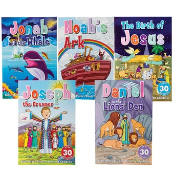 Bible Story Sticker Book