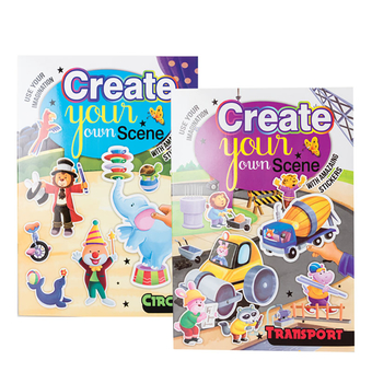 Create A Scene Sticker Book